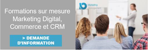 Formations sur mesure Marketing