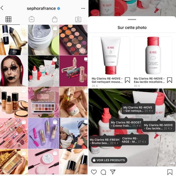 cosmetique-digital-instagram-shopping-sephora