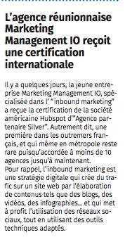 Revue de Presse Le JIR 22 mai 2017