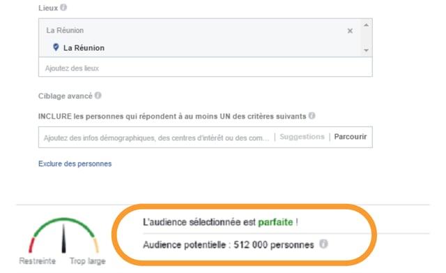 Facebook reunion-nombre de comptes
