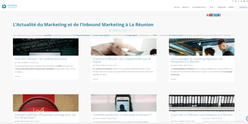inbound marketing article contenu web