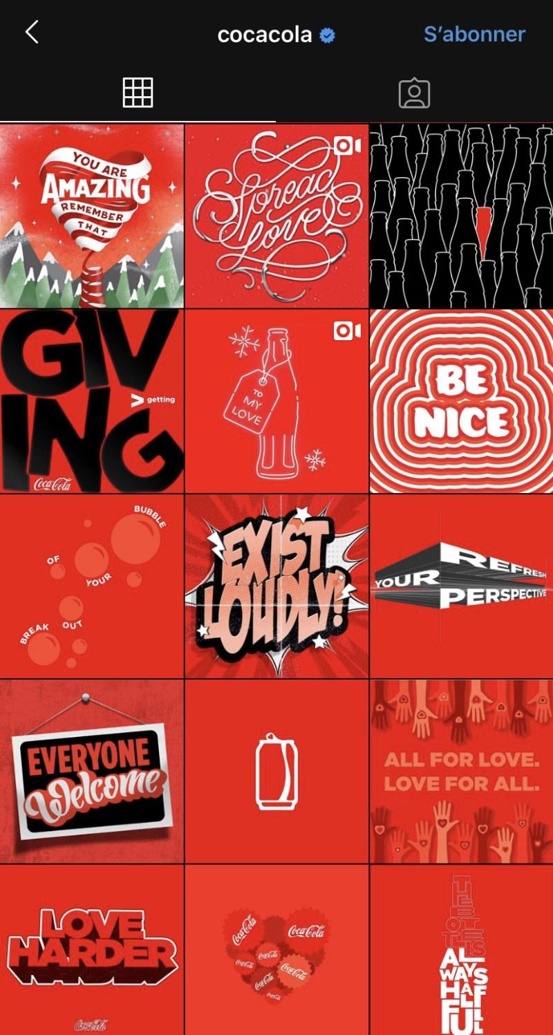 Instagram et votre entreprise , Coca (1)
