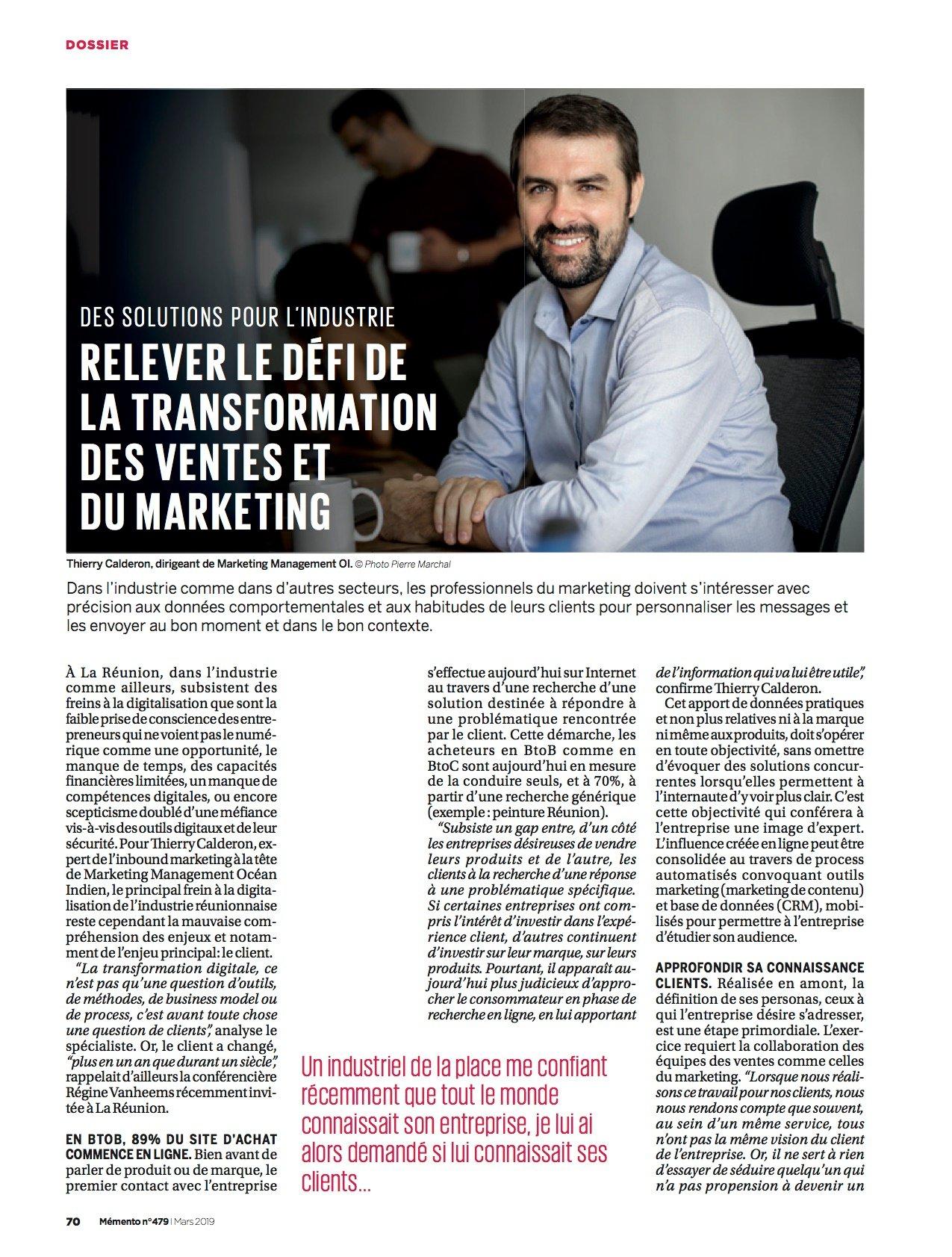 Memento -dossier industrie_avril 2019