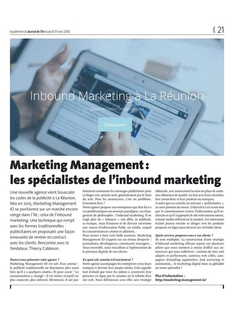 linbound-marketing-explique-dans-le-journal-de-lîle-de-la-reunion-print